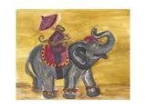 Delhi Parade I Premium Giclee Print by Lisa Choate