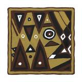 Tribal Rhythms II Prints by Virginia A. Roper