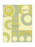Circle of Friends I Poster af Kate Archie