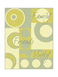 Circle of Friends I Premium Giclee Print by Kate Archie