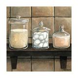Modern Bath Elements II Premium Giclee Print by Megan Meagher