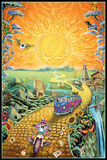 Grateful Dead - Golden Road Kunstdruck
