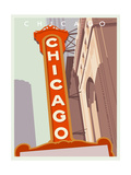 Art Deco-Chicago Poster by Richard Weiss