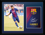 Barcelona - Suarez 17/18 Collector-tryk