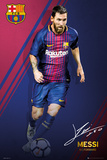 Barcelona - Messi 17/18 Posters