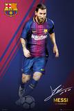 Barcelona - Messi 17/18 Kunstdrucke