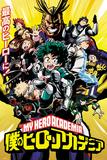 My Hero Academia - Season 1 Posters