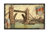 European Travels II Poster von Kate Ward Thacker