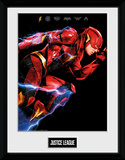 Justice League - Flash Collector Print