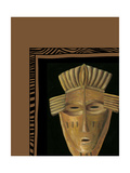 African Mask I Poster by Chariklia Zarris