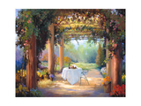 Vino al Fresco Prints by Carolyne Hawley