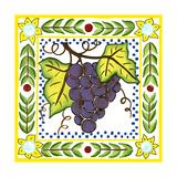 Rustic Tile II Poster by Chariklia Zarris