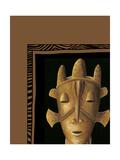 African Mask II Prints by Chariklia Zarris