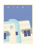 Art Deco-Miami Posters by Richard Weiss