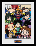 My Hero Academia - Chibi Compilation Stampa del collezionista