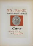 Pates Blanches II Poster por Pablo Picasso