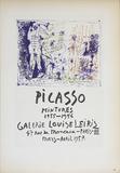 Galerie Louise Leiris Poster por Pablo Picasso