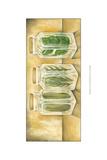 Spice Jars II Kunstdrucke von Laura Nathan
