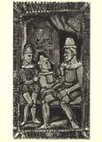 Three Figures Plakater av Georges Rouault