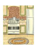 Country Kitchen II Poster af Chariklia Zarris