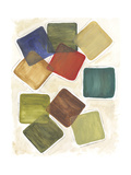 Color Bloc II Premium Giclee Print by Lisa Choate