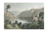 Pastoral Riverscape V Poster par W.H. Bartlett