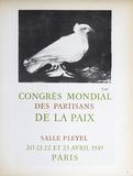 Congres Mondial des Partisans de la Paix Pôsters por Pablo Picasso