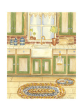 Country Kitchen I Posters af Chariklia Zarris