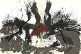 Green, Red and Black Affischer av Paul Rebeyrolle