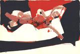 Abstracted Female Figure Posters av Paul Rebeyrolle