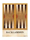 Backgammon Posters by Norman Wyatt Jr.
