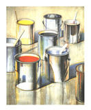 Paint Cans (No text) Plakater af Wayne Thiebaud