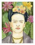 Frida Kahlo I Affiches par Melissa Wang