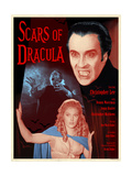 Scars of Dracula 1970 (Blue) Plakater