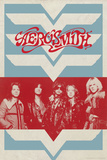 Aerosmith - Retro Wings Affiches
