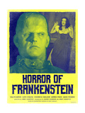 Horror of Frankenstein 1970 (Yellow) Plakat