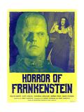 Horror of Frankenstein 1970 (Yellow) Print