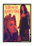 Blood From the Mummy's Tomb 1971 (Pink) Plakater