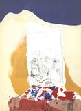 Composition V-171 Posters av Paul Rebeyrolle
