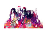 Aerosmith - Watercolor Plakater