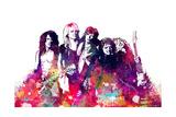 Aerosmith - Watercolor Kunst