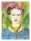 Frida Kahlo II Poster par Melissa Wang