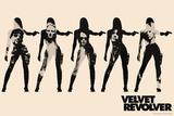 Velvet Revolver - Cream Band Silhouette Láminas