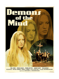 Demons of the Mind 1972 (Yellow) Posters