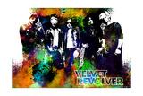 Velvet Revolver - Watercolor Kunst