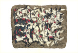 Composition IV-160 Plakater af Jean-Paul Riopelle