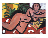 Nude with Blue Eyes Posters av Henri Matisse