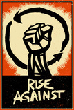 Rise Against - Poster Fist Stampe