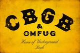 CBGB & OMFUG - Logo 高画質プリント