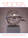 Figure in Sphere Pôsters por Ernest Trova